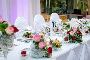שולחן אירועים מעוצב